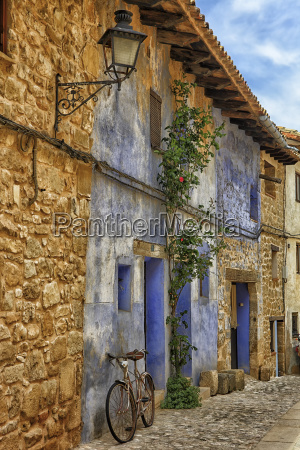 spain teruel province matarrana old houses