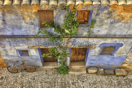 spain teruel province matarrana old town