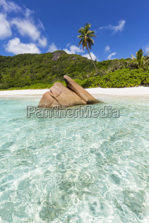 seychelles la digue indian ocean anse