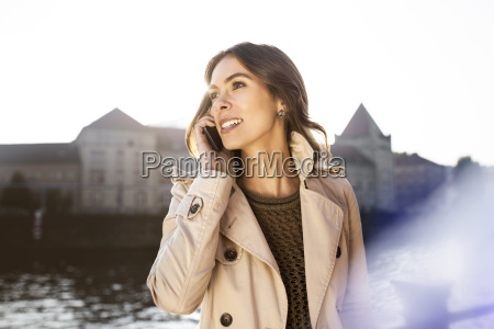 germany berlin young woman on the
