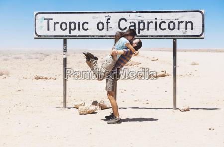 namibia namib desert swakopmund traveler couple