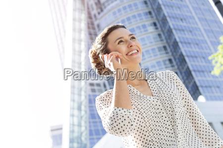 poland warsaw portrait of smiling businesswoman