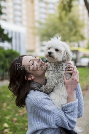 uk london happy young woman with