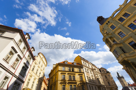 czech republic buildings in the city