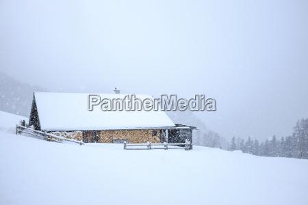 germany bavaria berchtesgaden rossfeld mountain hut