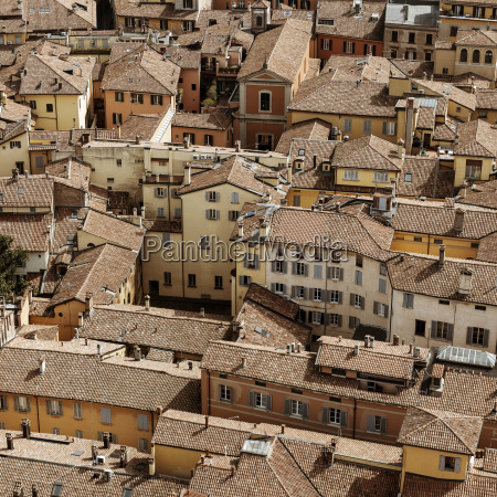 italy bologna view to the multi
