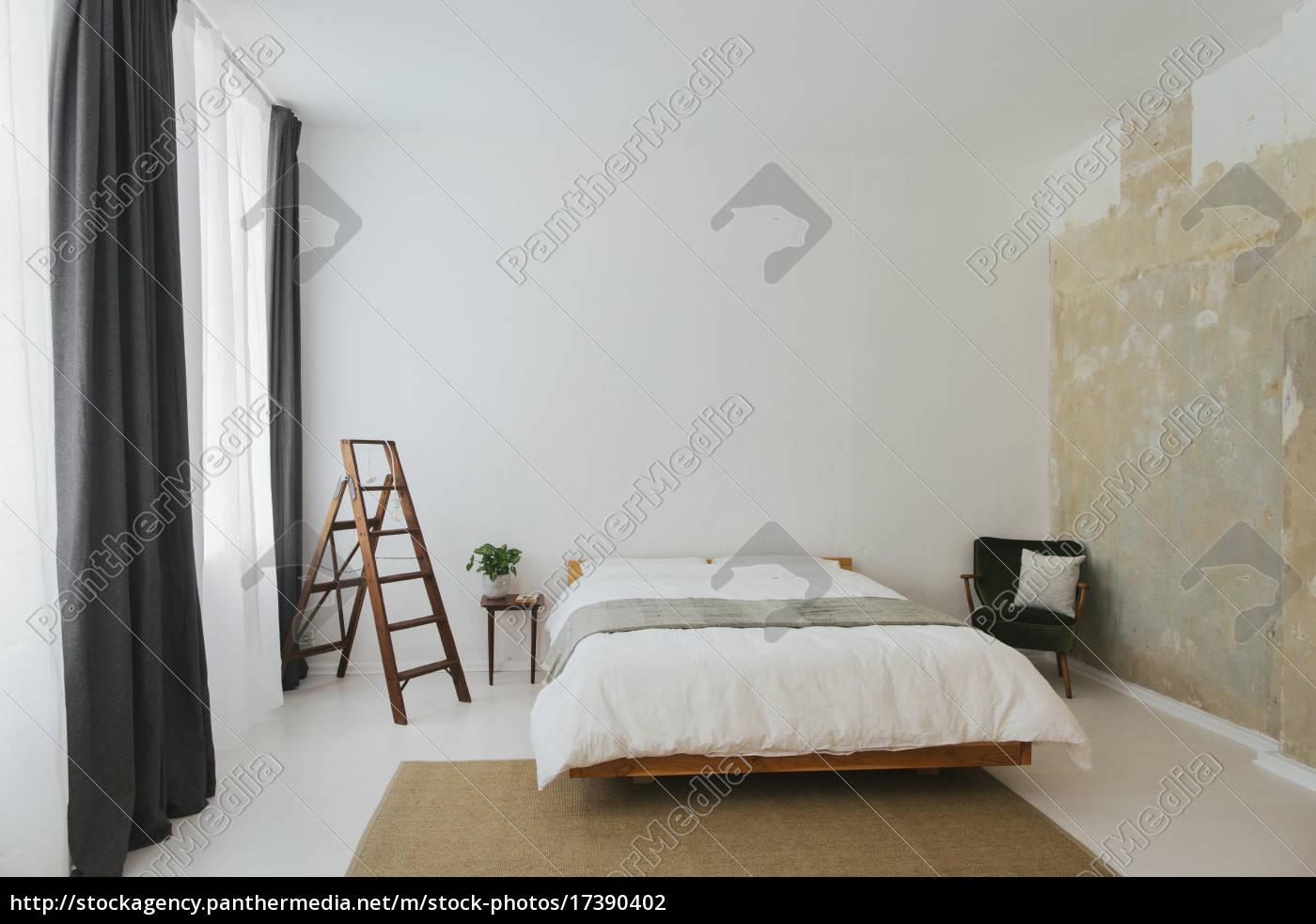 minimalistisches, skandinavisches, design-schlafzimmer - 17390402