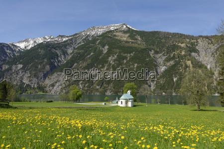 austria tyrol lighthouse and seehof chapel
