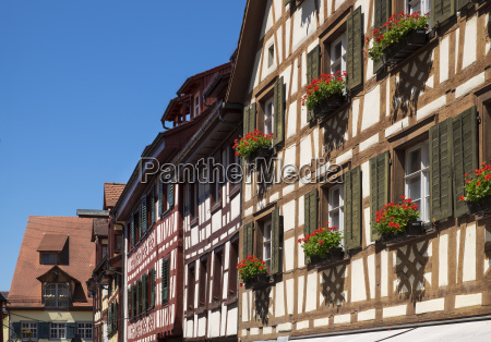 germany meersburg half timbered houses