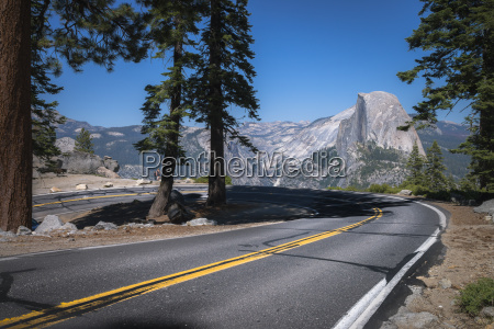 usa california yosemite national park road