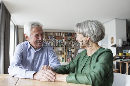 happy senior couple having fun at