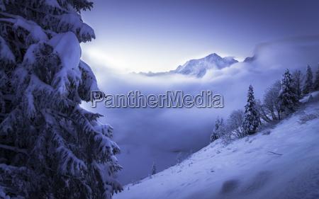 germany bavaria berchtesgaden alps hoher goell
