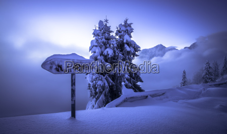germany bavaria berchtesgaden alps snowy landscape