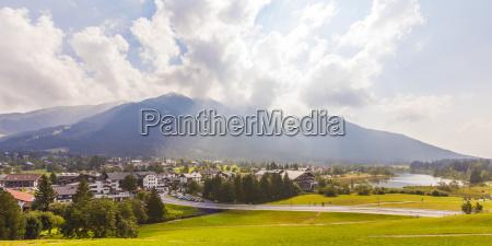 austria tyrol seefeld in tirol townscape