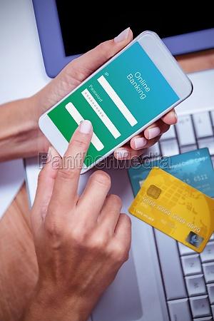 telefono portatile computer mano mani cellulare