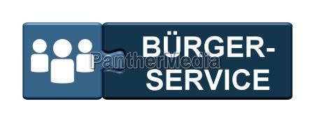puzzle button shows civil service