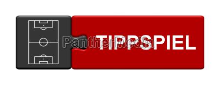 puzzle button zeigt tippspiel