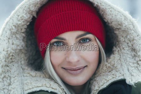 close up portrait of beautiful young