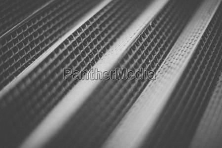 close up of metal grate