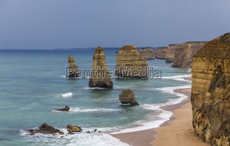 view of the eleven apostles on
