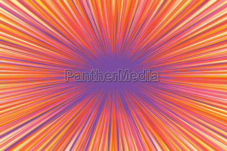 bright burst background retro comic pop