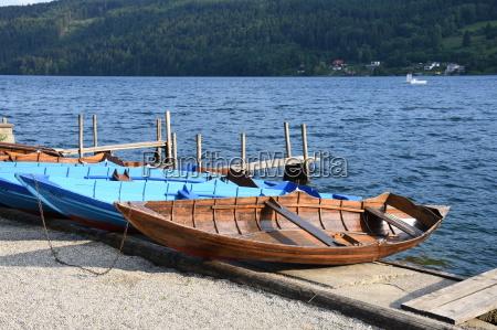 millstatt millstaetter see boot boote ruderboot
