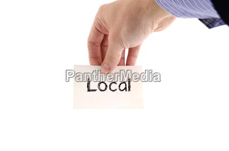 lokales textkonzept