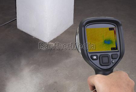 funnel leak infrared