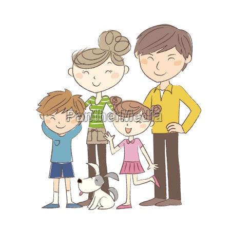 familie eltern und kinder