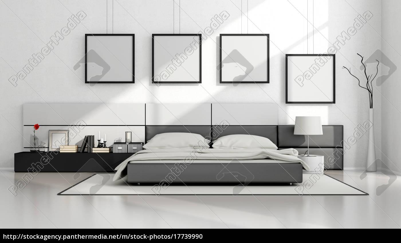 Schlafzimmer Schwarz Weiss Design Caseconrad Com