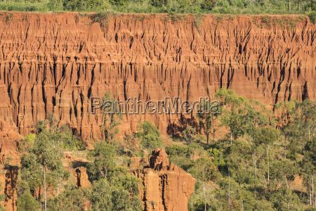 sandstone rock formations at gesergiyo near
