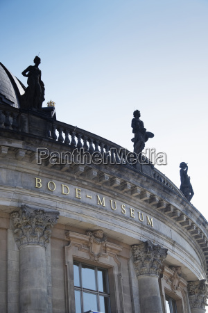 close up of the bode museum
