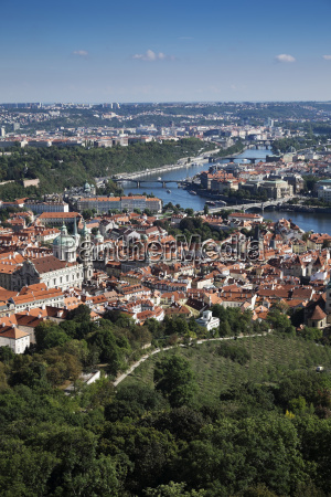 scenic overview of the city of
