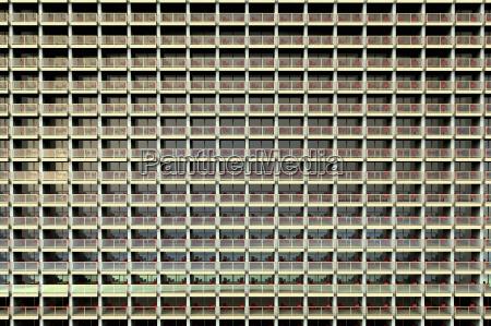 digital illustration of uniform looking apartments