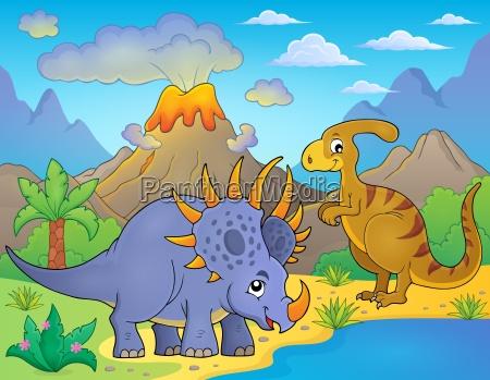 dinosaurier thema bild 8