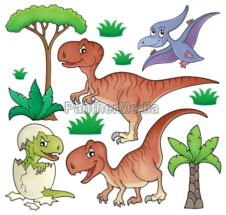 dinosaur topic set 1