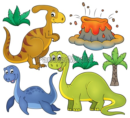 dinosaur topic set 3