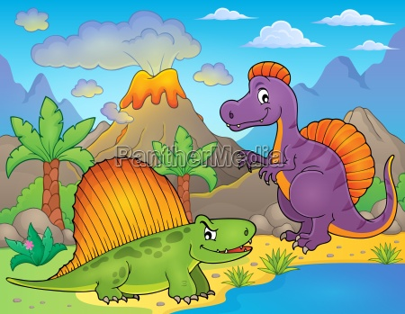 bild mit dinosaurier thematik 1