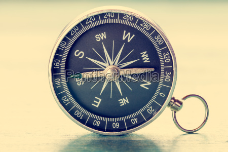 image of old compass