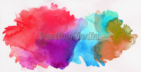 exempted watercolor abstract colors