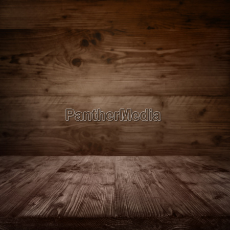interior with a wooden floor in