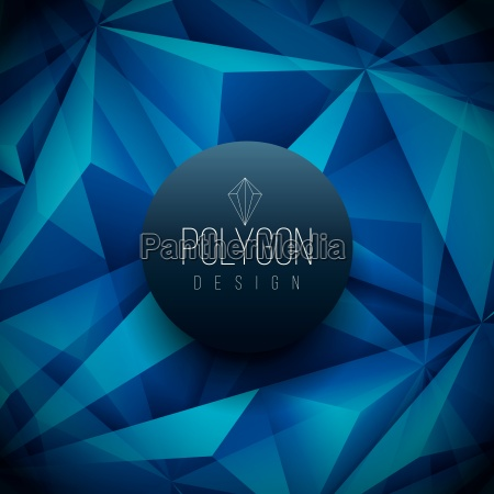 vector polygon based design template