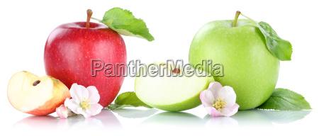 apfel frucht AEpfel fruechte obst freisteller