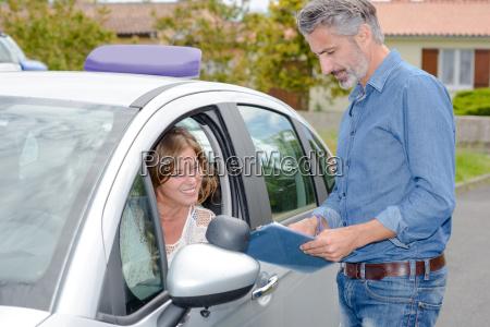 driving examination result