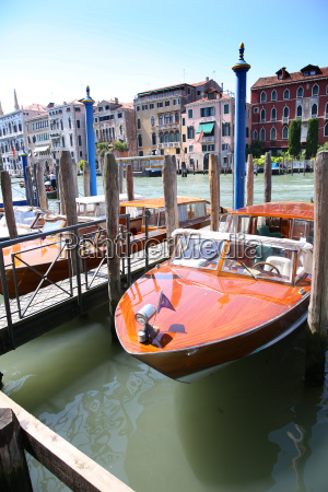 ansicht von booten auf canal grande