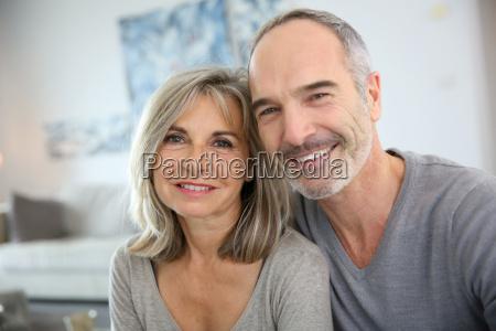 cheerful senior couple enjoying life
