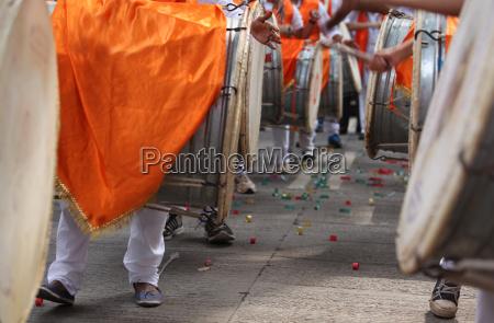 ganesha dhol procession