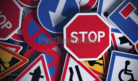 franzoesisch verkehrsschilder sicherheits