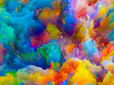 tiefe der farben