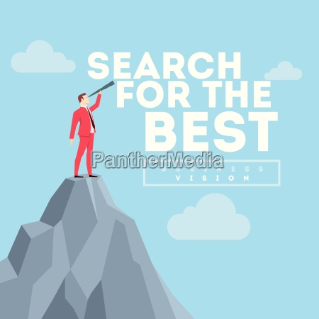 search for the best business concept